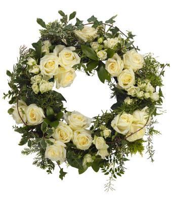 Wreath-All White
