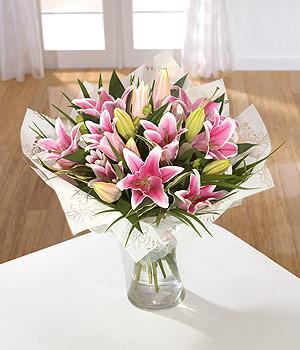 Sumptuous Lily Hand tied